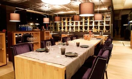 Menú degustación para 2 con 6 platos, botella de vino y opción a maridaje desde 59,95 € en El Bistró Deloya Gastronomía