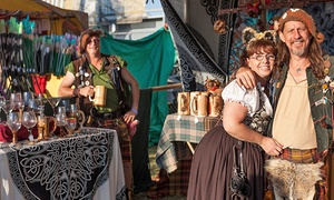 Age of Chivalry Renaissance Festival: Two General Admission Tickets or One Three-Day Pass at Age of Chivalry Renaissance Festival (Up to 54% Off)