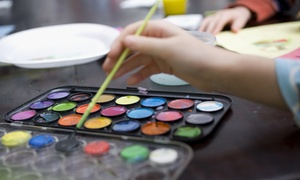 Splash Kids: One Month of Art Classes for One or Two Kids at Splash Kids (Up to 53% Off)