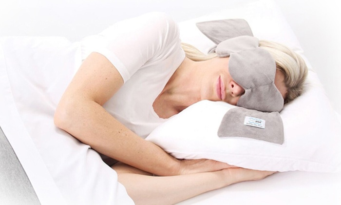 NodPod Strap-Free Weighted Sleep Therapy Mask | Groupon