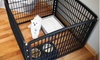 Indoor/Outdoor 4- or 8-Panel Pet Playpen