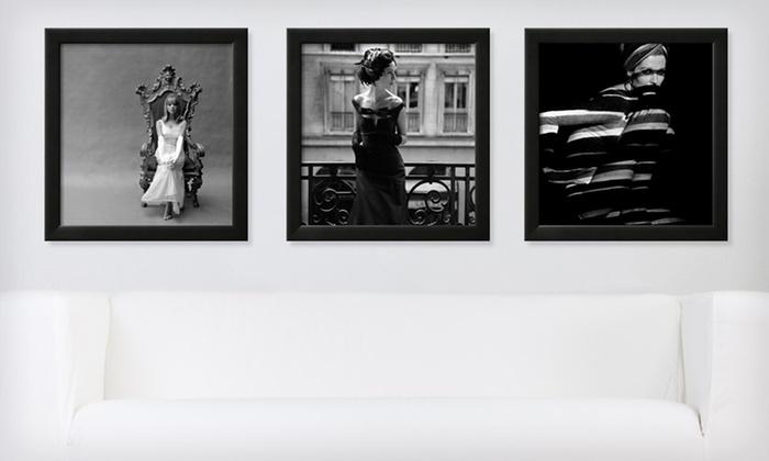 51 99 for a framed black and white retro print