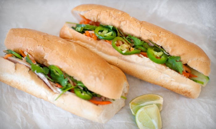 Bon Mi - Downtown: French-Vietnamese Food for Two or Four at Bon Mi (Up to 53% Off)