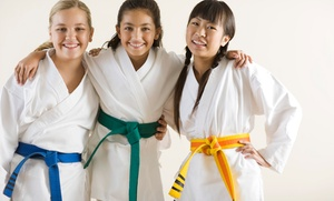 David Deaton Karate: Three Karate Lessons with Uniform for One or Two Children at David Deaton Karate (Up to 54% Off)