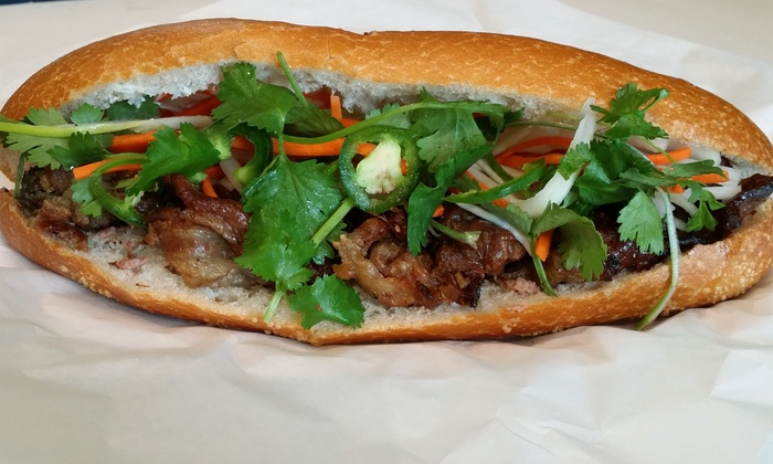 Banh Mi Shop - Alameda: $18 for Three Groupons, Each Good for $10 Worth of Vietnamese Cuisine at Banh Mi Shop ($30 Total Value)