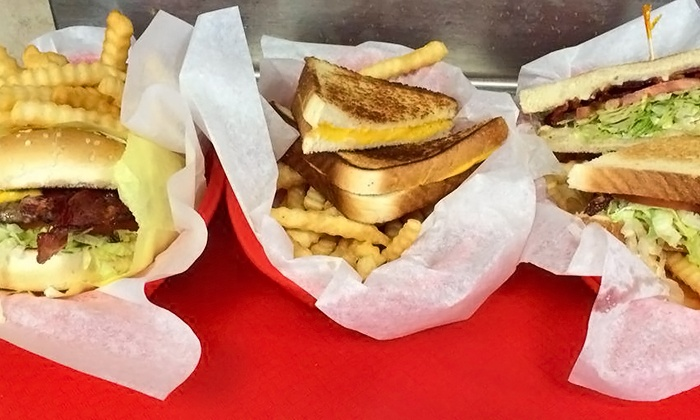 Triangle Drive-In - Multiple Locations: Classic American Grill Cuisine for Dine-In or Takeout at Triangle Drive-In (Up to 44% Off)
