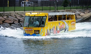 Boston Super Tours: Super Duck Tour for an Adult, Child 3–11, or Child Under 3 from Boston Super Tours (Up to 26% Off)