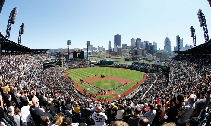 Pittsburgh Pirates - PNC Park: Pittsburgh Pirates Game at PNC Park with Dates in April, May, and June (Up to 33% Off). Four Seating Options Available.