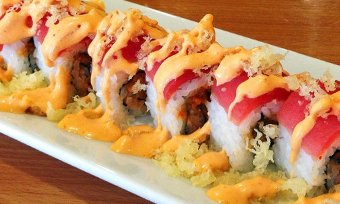 Sushi Fans Cafe - Wellington Marketplace: $10 for $20 Worth of Sushi and Classic Japanese Cuisine at Sushi Fans Cafe