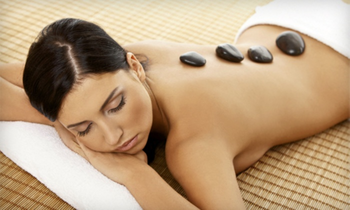 Kits Spa - Kitsilano: 60-Minute Hot-Stone Aromatherapy Massage with Optional Anti-Aging Collagen Facial at Kits Spa (Up to 56% Off)