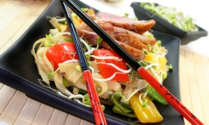 China City: Two-Course Chinese Meal with Rice for Two or Four at China City (Up to 64% Off)