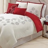 5-Piece 100% Cotton Embroidered Comforter Sets