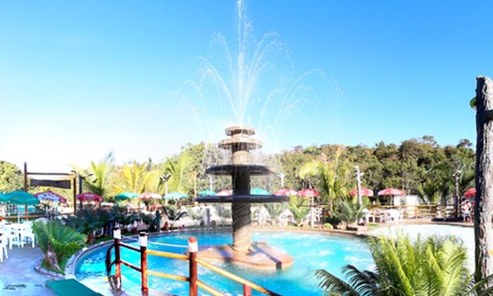 Águas Correntes Park - Cidade Ocidental: Águas Correntes Park – Cidade Ocidental: ingresso para adultos e crianças a partir de R$ 24,90
