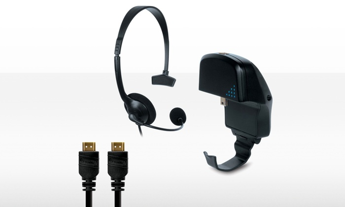Gamer Accessory Pack for PS3: Gamer Accessory Pack with HDMI Cable, Wired Headset, and Back-Up Battery for PS3. Free Returns.