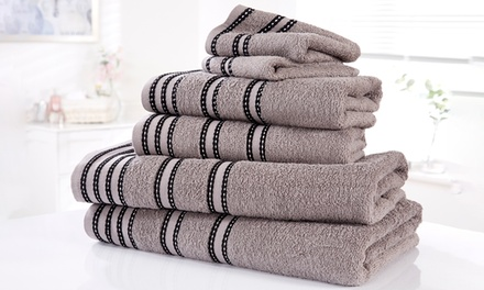 Rapport Home 6Piece or 12Piece Egyptian Cotton Sirocco Towel Bale
