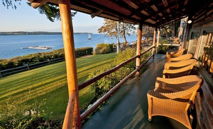 2-Night Stay for Two at The Captain Whidbey Inn in Coupeville, WA. Combine Multiple Nights.
