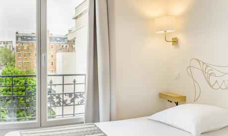 Cerca de la Torre Eiffel: habitación doble con desayuno opcional para 2 personas en el Hotel Korner Eiffel