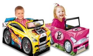 Convertible Storybook, Vehicle, and Floor Mat from Hot Wheels, Barbie, and More