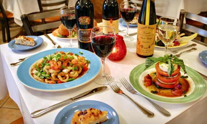Castalia Restaurant & Bar - Woodland Park: $25 for $50 Worth of Italian Dinner Fare at Castalia 997 Restaurant & Lounge in Woodland Park. Two Options Available.