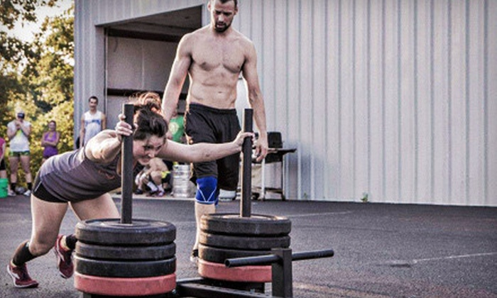 Crossfit South Bend - Penn: 12 CrossFit On-Ramp Classes with Option of One Month of Unlimited Classes at Crossfit South Bend (Up to 56% Off)
