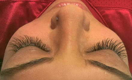 Half or Full Set of Eyelash Extensions at Simple Beauty Spa (Up to 57% Off)