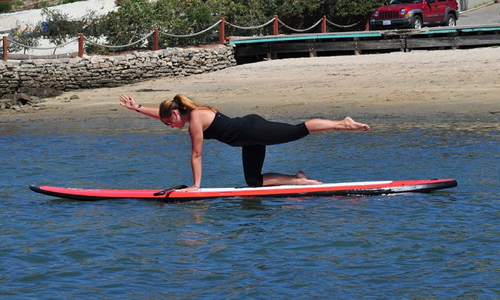 Carlsbad Paddle Club - Carlsbad: Paddleboard Fitness Class or Two Weeks of Unlimited Classes for One or Two at Carlsbad Paddle Club (Up to 55% Off)