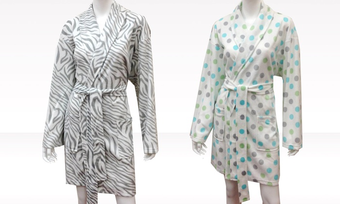 Minky Robes: Minky Robes. Multiple Styles Available. Free Returns.