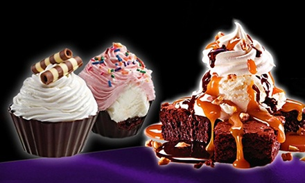 Ice Cream, Frozen Yogurt, and Shakes, or Signature Cakes and Cupcakes at Cold Stone Creamery (50% Off)
