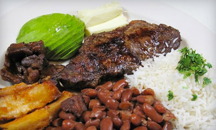 La Casa Latina - Westbury: $25 for $50 Worth of Latin American Cuisine and Two Glasses of Sangria at La Casa Latina (Up to $59 Value)