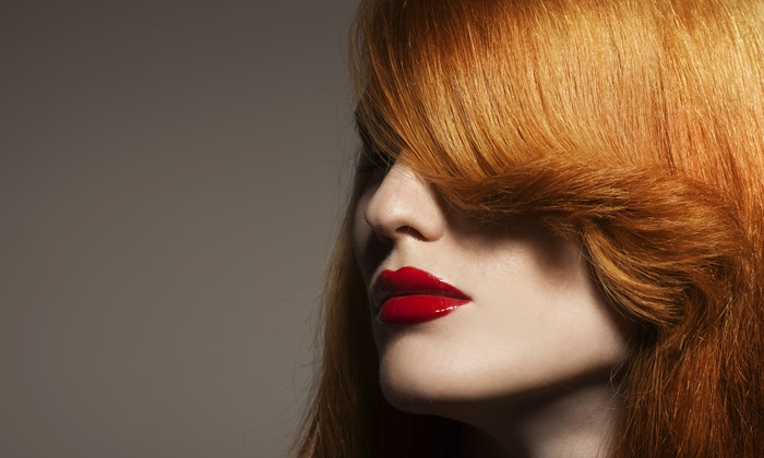 The Color Parlour - Canyon Gate: Color and Blow-Dry from The Color Parlour  (58% Off)