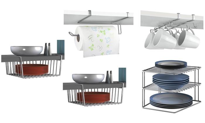 five-piece kitchen storage bundle   groupon