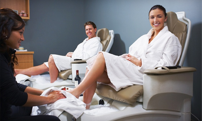 Perfect Getaway Day Spa - Warehouse District: Spa Package with Facial and Mani-Pedi for One or Two at Perfect Getaway Day Spa (52% Off)