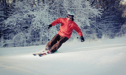 Lift Ticket with Option for Ski or Snowboard Rental at Cannonsburg Ski & Ride Area (Up to 47% Off)