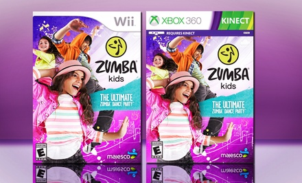 Zumba Kids for Wii or Xbox 360 Kinect. Free Returns.