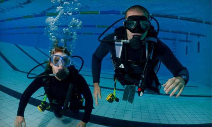 Dip 'N Dive - Multiple Locations: $114 for Full Open-Water Scuba Certification Course from Dip 'N Dive ($229 Value)