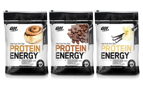Optimum Nutrition Protein Energy 52-Serving Bag
