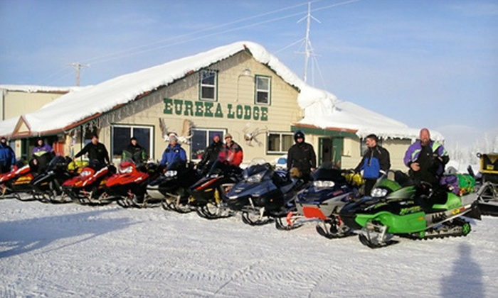 Eureka Lodge - Glennallen: One- or Two-Night Stay with Daily Breakfast for Two at Eureka Lodge in Glennallen (Up to 57% Off)