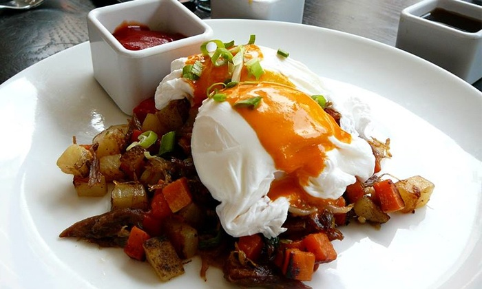 Dégagé Jazz Café - Dégagé Jazz Café : $17.25 for $30 Worth of French-Inspired Food at Dégagé Jazz Café
