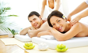 54% Off 60-Minute Couples Massage at Couples Retreat Day Spa