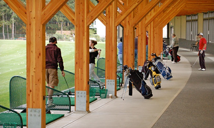 Highland Pacific Golf - Victoria: $31.50 for Golf Package with 10 Buckets of Range Balls and a Drop-In Group Lesson at Highland Pacific Golf ($63 Value)