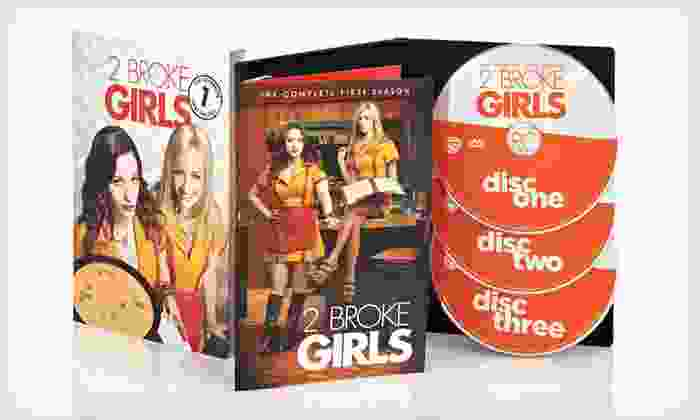 """2 Broke Girls"" Season-One DVD Set: $14 for ""2 Broke Girls"" Season-One Three-Disc DVD Set ($44.98 List Price). Free Returns."
