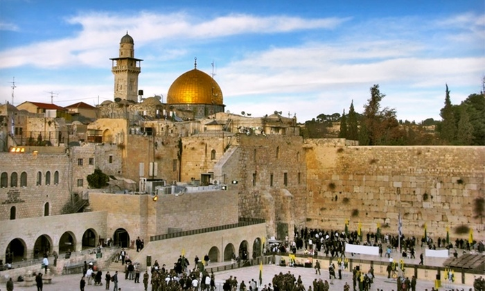 Nine-Day Tour of Israel with Airfare - Jerusalem, Tiberias, and Tel Aviv: Nine-Day Israel Tour with Round-Trip Airfare and Accommodations from Gate 1 Travel