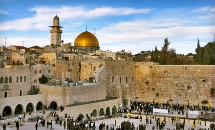 Groupon Deal: Nine-Day Israel Tour with Round-Trip Airfare and Accommodations from Gate 1 Travel