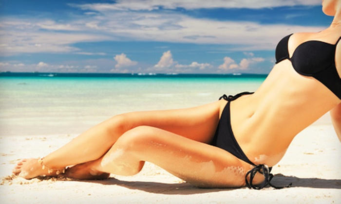 Soleil Tanning Salon - Multiple Locations: One or Three Airbrush Tans, Five Level 2 Bed Tans, or Five Matrix Bed Tans at Soleil Tanning Salon (Up to 61% Off)