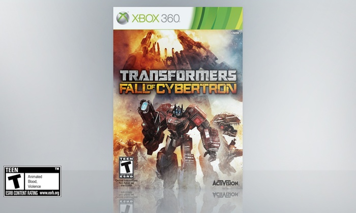 Transformers: Fall of Cybertron for X360: Transformers: Fall of Cybertron for Xbox 360. Free Returns.