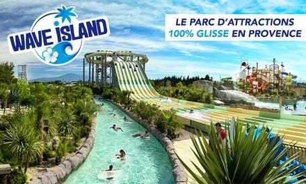Entrées adultes ou enfant ou session de wakeboard, surf «My surf», flowboard «Da wave» de 30min dès 14 € à Wave Island