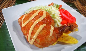 Honduras Kitchen: Honduran Cuisine for Two or Four at Honduras Kitchen (50% Off)
