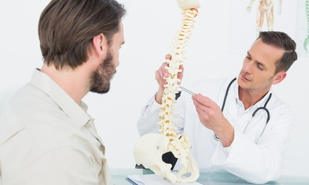 One or Three Spinal-Decompression Sessions with Cold Laser Therapy from Dr. Stephen M. Perlman (Up to 72% Off)
