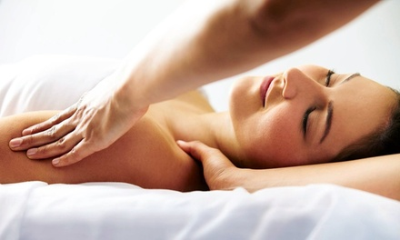 55- or 80-Minute Custom Massage at Elements Massage (Up to 56% Off)