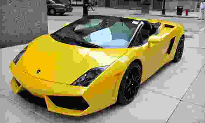 Auto Exotic Rental - Great Uptown: Two- or Three-Hour Exotic-Car Rental from Auto Exotic Rental (Up to 74% Off)